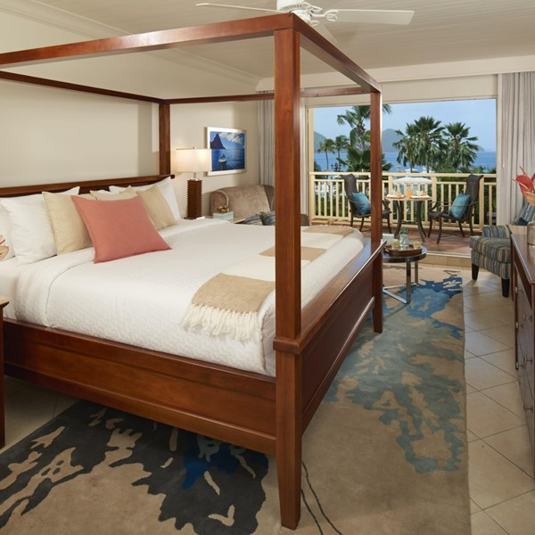 Caribbean Honeymoon Strandzicht Kamer