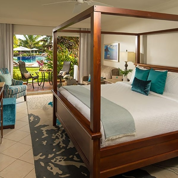 Caribbean Honeymoon Walkout Kamer